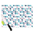 KESS InHouse Pink Tooth by Project M Cutting Board; 0.5'' H x 11'' W x 7.5'' D
