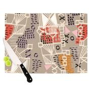 KESS InHouse Nico by Gill Eggleston Cutting Board; 0.5'' H x 15.75'' W x 11.5'' D