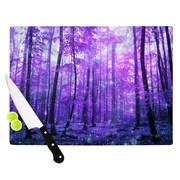 KESS InHouse Magic Woods by Iris Lehnhardt Forest Cutting Board; 0.5'' H x 15.75'' W x 11.5'' D