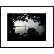 Printfinders 'Bay Bridge' by John Nakata Framed Photographic Print