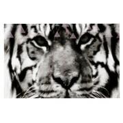 KESS InHouse Deco Tiger Face Animal Doormat