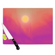 KESS InHouse Yosemite Dawn by Michael Sussna Cutting Board; 0.5'' H x 11'' W x 7.5'' D