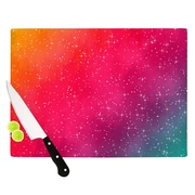 KESS InHouse Colorful Constellation by Fotios Pavlopoulos Cutting Board; 0.5'' H x 11'' W x 7.5'' D