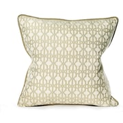 TOSS by Daniel Stuart Studio Byzantium Cotton Throw Pillow; Blue Mist