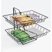 Cal-Mil 2 Tier Wire Basket Rack