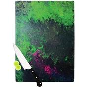 KESS InHouse Acid Rain by Claire Day Cutting Board; 0.5'' H x 11'' W x 7.5'' D