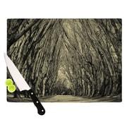 KESS InHouse Where Trees Still Whisper by Ingrid Beddoes Cutting Board; 0.5'' H x 11'' W x 7.5'' D