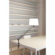 Carpyen Lektor 34'' H Clip Table Lamp; Stone Grey