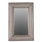 Urban Trends Metal Rectangular Wall Mirror