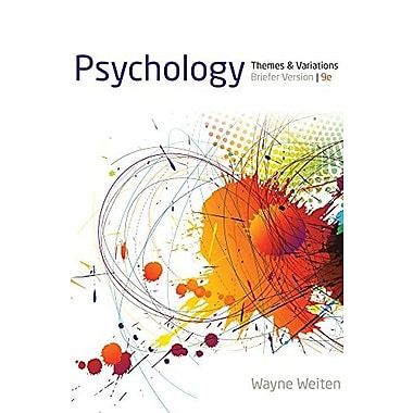 Psychology: Themes and Variations, Briefer Version, New Book (9781133957836)