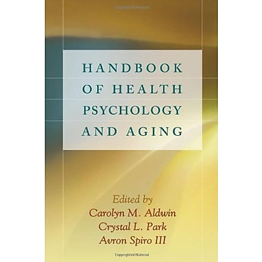 Handbook of Health Psychology and Aging, New Book (9781593850579)