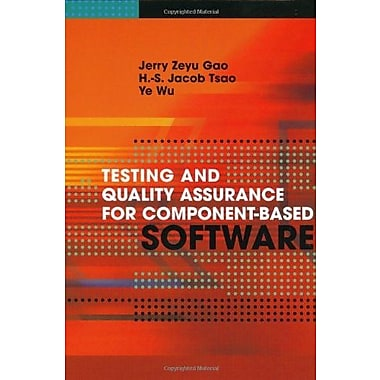 Testing and Quality Assurance for Component-Based Software (Artech House Computing Library), New Book (9781580534802)