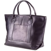 Clava Leather Unisex Travel Tote; Caf