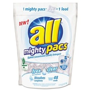 Sun Products All Mighty Pacs Free and Clear Super Concentrated Laundry Detergent
