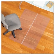 ES Robbins Foldable Rectangle Chair Mat, Task Series for Hard Floors