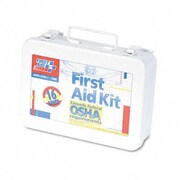 FIRST AID ONLY, INC. Unitized First Aid Kit for 16 People, 94 Pieces, Osha/Ansi, Metal Case