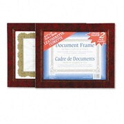 Nu-Dell Leatherette Document Frame, 8-1/2 X 11, Pack of Two