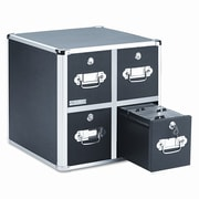 VAULTZ 4 Drawer CD File Cabinet