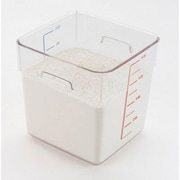 Rubbermaid Commercial Products 8-Quart SpaceSaver Square Container