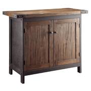 Crestview Wood Bridge Console Table