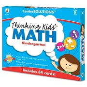 CARSON-DELLOSA PUBLISHING Center Solutions Thinking Kids Math Cards