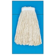 Unisan 20 oz Cut-End Mop Head with Premium Standard Head in White