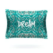 KESS InHouse Tattooed Dreams by Caleb Troy Woven Pillow Sham; Queen