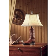 Crestview Stetson 26.5'' H Table Lamp with Bell Shade