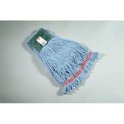 Rubbermaid Commercial Products 0.59'' Medium Web Foot Wet Mop Head in Blue