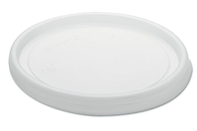 DART Non-Vented Plastic Cup & Food Container Lids (Carton of 1,000) WYF078277519902