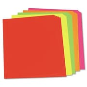 Pacon Creative Products Neon Poster Board, 25/Carton