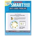 Scholastic SMART Board Lessons with CD, Math, Grades 3-6, 48 pages