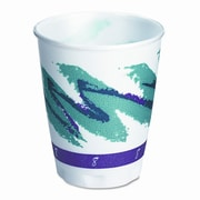Solo Cups Company Symphony Design Trophy Foam Hot/Cold Drink Cups, 1000/Carton