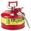 Justrite Type Il Accuflow Safety Can