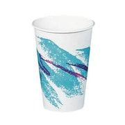 Solo Cups Jazz Hot Paper Cups in White / Green / Purple