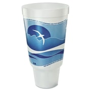 DART Horizon Flush Fill 44 oz. Foam Hot/Cold Cup (Bag of 15)