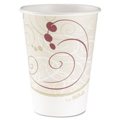 Solo Cups Company Symphony Design Hot Cups, 12 Oz. (Set of 1000)