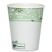 Dixie PLA Hot Cups, Paper with PLA Lining, Viridian ( Pack of 50)