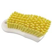 Boardwalk Polypropylene Scrub Brush; Yellow