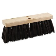 Boardwalk 16'' Polypropylene Street Broom Head