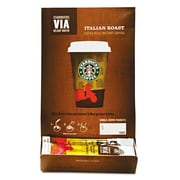 Starbucks Coffee Via Ready Brew Italian Roast Coffee (Pack of 50)