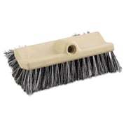 Boardwalk 10'' Polypropylene Dual-Surface Vehicle Brush with Handle