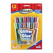 Roseart Washable Glitter Glue Pens (Set of 12)