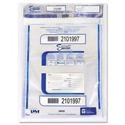 PM COMPANY Triple Protection Tamper-Evident Deposit Bags, 100/Carton