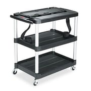 Rubbermaid Rubbermaid  Media Master  3-Shelf Audio-Visual Commercial AV Cart
