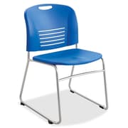 Safco Products Stack Chair; Blue