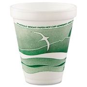 DART Horizon 12 oz. Foam Cup (Set of 1000)