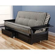 Kodiak Furniture Phoenix Cozumel Futon and Mattress; Black