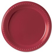 Solo Cups (500 Per Container) 9'' Red Plastic Plates