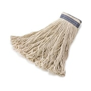 Rubbermaid Commercial Products Universal Headband Cotton Mop Heads in White